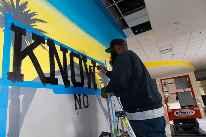 An Interview With Chuze Fitness Fontana Muralist, Dack Williams