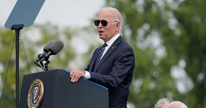 One Crucial Official Was Nowhere to Be Seen as Biden Attends Tribute for 491 Fallen Officers