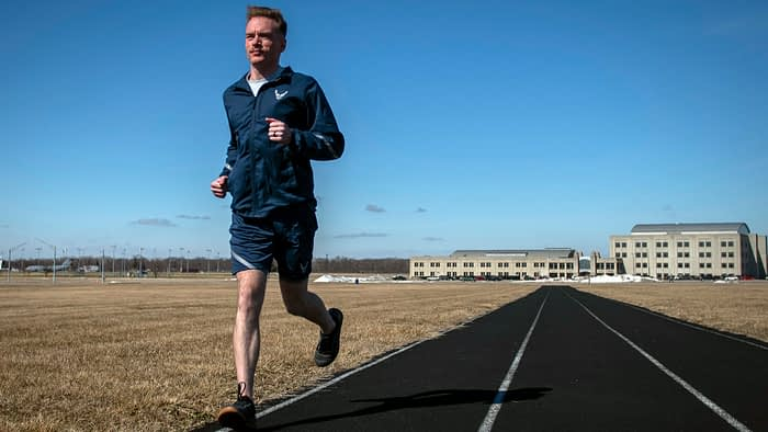 The new Air Force fitness test will feature walking instead of running and modified push-ups