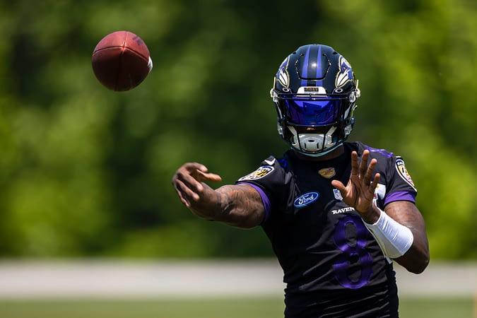Baltimore Ravens QB Lamar Jackson sidelined after positive COVID-19 test