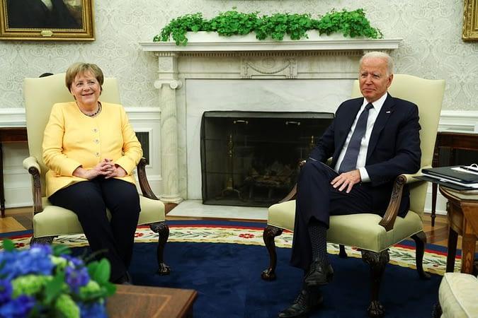 Biden, Merkel work to renew U.S.-German ties after tensions under Trump - Metro US