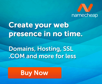 Create your Web Presence with Namecheap