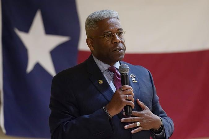 Allen West, Texas GOP gubernatorial hopeful, has COVID-19
