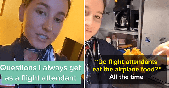 Flight Attendant Answers 19 Most Frequently Asked Questions