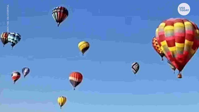 New Mexico Hot Air Balloon Fiesta is back after a COVID-19 hiatus