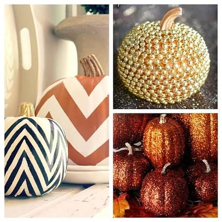 10 Stylish No Carve Pumpkin Decorating Ideas- A Cultivated Nest