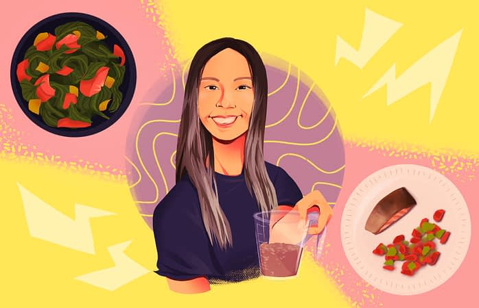 I ate like fitness YouTuber Chloe Ting for an entire day