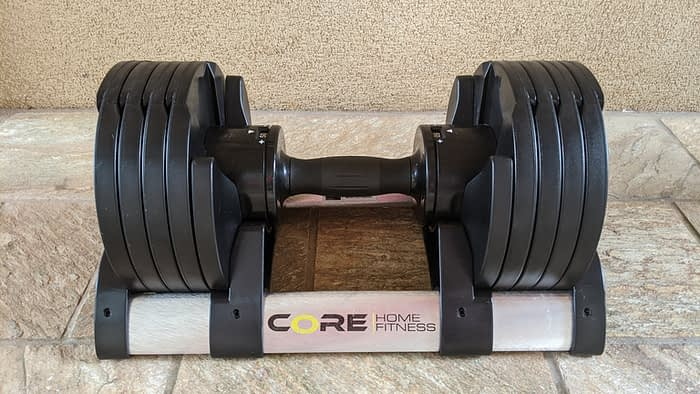 Core Home Fitness Puts a Smart, New Twist on Adjustable Dumbbells