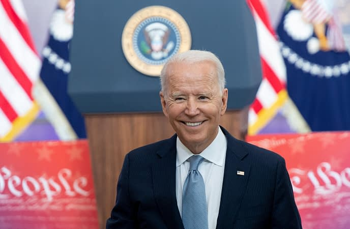Joe Biden fired Trump holdovers and became the first unitary executive.